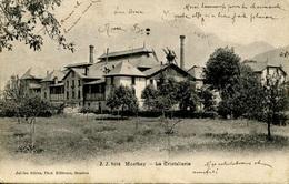 Suisse Valais Montey La Cristallerie Circulée 1906 - VS Valais