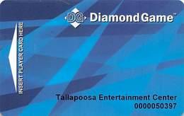 Creek Entertainment / Casino - Montgomery, AL - Diamond Game Slot Card - Casino Cards