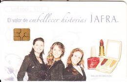 MEXICO - Girls, Jafra/Calendar 2006, Chip GEM3.1, 05/06, Used - Mexico