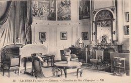 Cp , 36 , VALENÇAY , Le Château , Chambre Du Roi D'Espagne - France