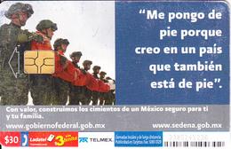 MEXICO - Ejercito Y Fuerza Aérea, Chip GEM3.1, Used - Mexico