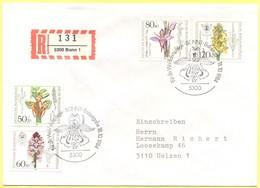 GERMANIA - GERMANY - Deutschland - ALLEMAGNE - 1984 - Für Die Wohlfahrtspflege  - FDC - Bonn - Einschreiben - Registered - BRD