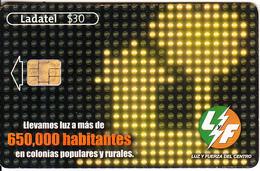MEXICO - Apoyamos La Expansión De La Industria, Chip GD10, Used - Mexico