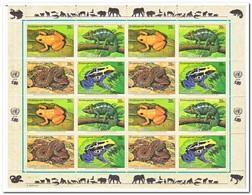 New York 2006, Postfris MNH, Frogs, Snakes, Amphibies - New York - Hoofdkwartier Van De VN