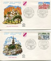 EUROPA CEPT FRANCE 1977 FDC N° YVERT 1928/1929 - Europa-CEPT