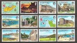 ALDERNEY 1983 - Views From/on ALDERNEY - 12v Mi 1-12 MNH ** Cv€5,00 R001 - Alderney