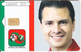 MEXICO - Alianza Por Mexico Pri-Pvem/Enrique Peña Nieto, Chip AX03, 04/05, Used - Mexico
