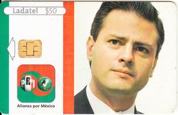 MEXICO - Alianza Por Mexico Pri-Pvem/Enrique Peña Nieto, Chip GD10, 04/05, Used - Mexico