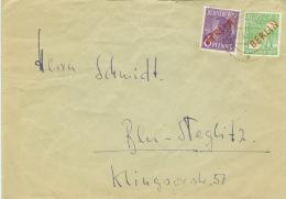 Berlin 22,24 Auf Brief - Berlin (West)