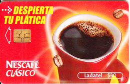 MEXICO - Nescafe Clasico, Chip GEM3.1, 07/04, Used - Mexico