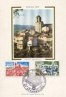 EUROPA CEPT FRANCE 1977 CARTE POSTALE N° YVERT 1928/1929 - Europa-CEPT