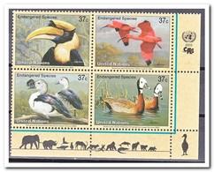 New York 2003, Postfris MNH, Birds - New York - Hoofdkwartier Van De VN