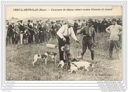 27 IVRY LA BATAILLE - Concours De Chiens Ratiers Contre Blaireau Et Renard - Frankreich