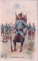 Guerre 14-18, Armée Française, Infanterie De Ligne, Illustrateur Léon Hingre (LVC 2) - Guerre 1914-18