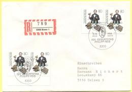 GERMANIA - GERMANY - Deutschland - ALLEMAGNE - 1984 - 150. Geburtstag Philipp Reis - FDC - Bonn - Einschreiben - Registe - FDC: Briefe