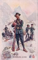 Guerre 14-18, Armée Française, Chasseurs Alpins, Illustrateur Léon Hingre (LVC 4) - Guerre 1914-18