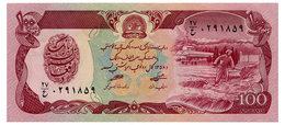 AFGHANISTAN 100 AFGHANIS 1979 Pick 58a Unc - Afghanistan