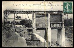 Barrage Et Usine Hydro électrique De Tuilières: état Des Travaux  (juin 1908) - Autres Communes