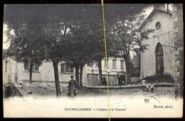 Champclauson:  L'église Et Le Couvent - France