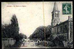 Lavallée: La Mairie Et L'église - France