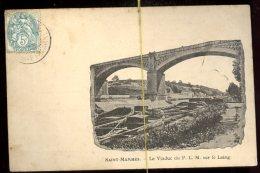 Saint Mammès:  Le Viaduc Du PLM Sur Le Loing - Structures