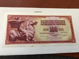 Yugoslavia Jugoslavia 100 Dinara Uncirculated Banknote 1981 - Yugoslavia