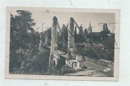 Montans (81) : L'entrée Du Pont Suspendu En 1954  PF. - Altri Comuni