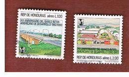 HONDURAS   - SG 1024.1025   - 1983 DEVELOPMENT BANK (COMPLET SET OF 2)       - USED - Honduras