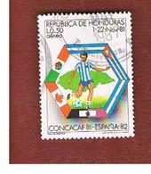 HONDURAS   - SG 999   - 1981 WORLD CUP FOOTBALL       - USED - Honduras