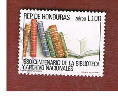HONDURAS   - SG 1018   - 1981 NATIONAL LIBRARY: BOOKS       - USED - Honduras