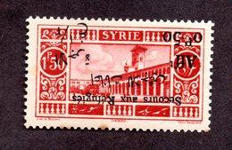 Syrie N°172 Surcharge Renversée N** LUXE (3 Rousseurs) Signé Cote 110 Euros !!!RARE - Nuovi
