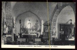 Chateau Chervix: Intérieur De L'église - France