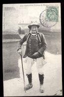 Costumes Bretons:  Vieillard Des Environs De Nevez Et Pont Aven - Costumi