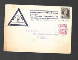 K. Leoplold II Met Tax 1,60 Fr - Entiers Postaux