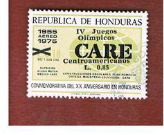 "HONDURAS   - SG 1102   - 1990  ""CENTRAL AMERICAN GAMES""  (CARE OVERPRINTED)     - USED - Honduras"