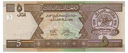 AFGHANISTAN 5 AFGHANIS 2002 Pick 66 Unc - Afghanistan