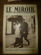 1918 LE MIROIR:Charles 1er Et Zita à Baden;Vienne;British Army à Lille;Pétain;Terribles Inondations à Valenciennes;etc - Revues & Journaux
