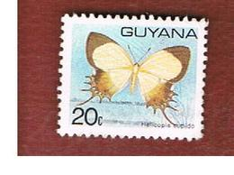 GUYANA - SG 701 -  1978  BUTTERFLIES: HELICOPIS CUPIDO     - USED - Guiana (1966-...)