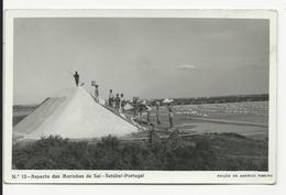 Carte Photo * Setúbal * Aspecto Das Marinhas De Sal - Setúbal