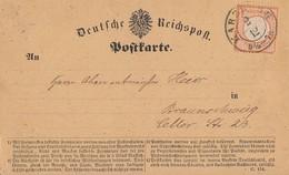 DR Karte EF Minr.14 K2 Harzburg 2.12. - Briefe U. Dokumente