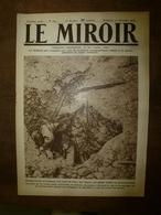 1918 LE MIROIR:Roi Albert,reine Et Prince Héritier à Bruges;La 46e British Division à Alep;St-Quentin;USArmy;Sérès; Etc - Riviste & Giornali