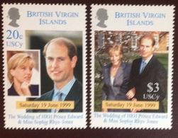 British Virgin Islands 1999 Royal Wedding MNH - Iles Vièrges Britanniques