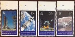 British Virgin Islands 1999 Moon Landing Space MNH - British Virgin Islands