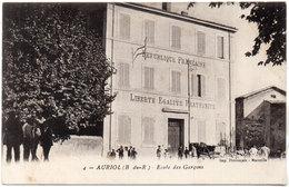 AURIOL - Ecole De Garçons    - Animation         (1095 ASO) - Auriol