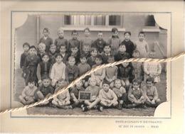 37 .. LA RICHE  .. ECOLE PAUL RACAULT .. ELEVES DE LA 6e CLASSE .. PHOTO AIGNAN ET BERNARD - Photographs