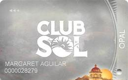 Casino Of The Sun & Casino Del Sol - Tucson, AZ - Opal Slot Card - Casino Cards