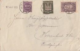 DR Brief Mif Minr.237,247,268 Bautzen 16.7.23 Vignette - Deutschland
