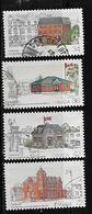 Canada #1122-5, CAPEX 87:USED   1987 Various Post Office - 1952-.... Règne D'Elizabeth II