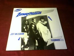 IMAGINATION  °  JUST AN ILLUSION  / FLASHBACK - 45 Rpm - Maxi-Singles