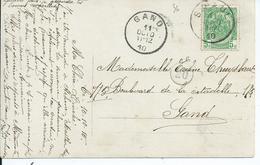 Fantasiekaart  Met OCB 83 --afstempeling ST.PAUL - COBA 30 - 1893-1907 Armoiries